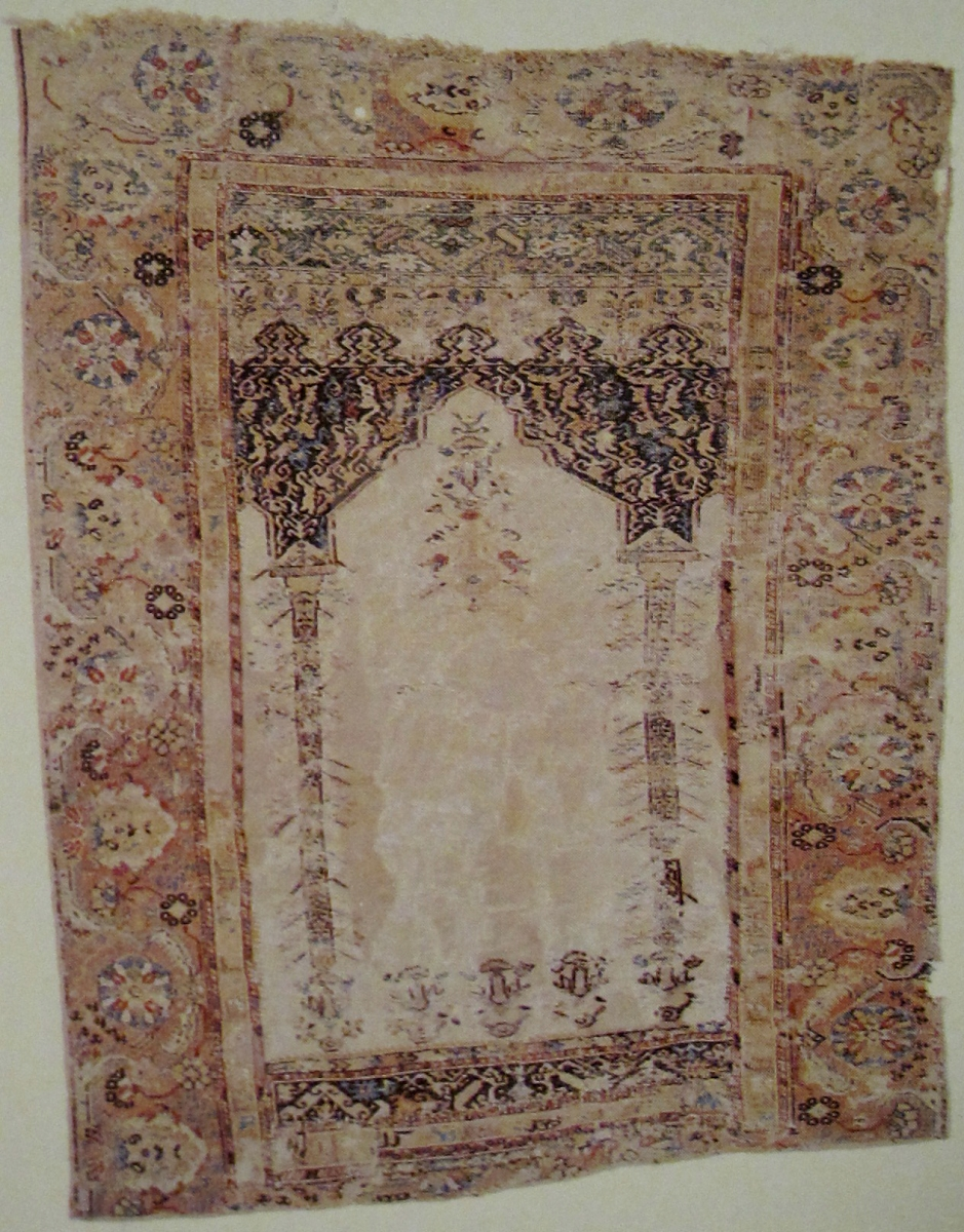 Giordes prayer rug
