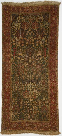 Persian shrub carpet