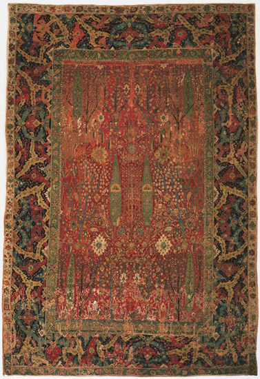 Persian garden carpet