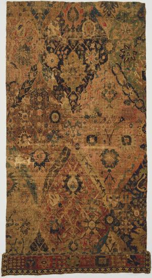 vase carpet fragment