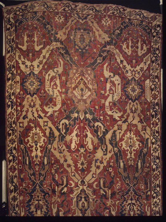 Kuba Dragon Carpet