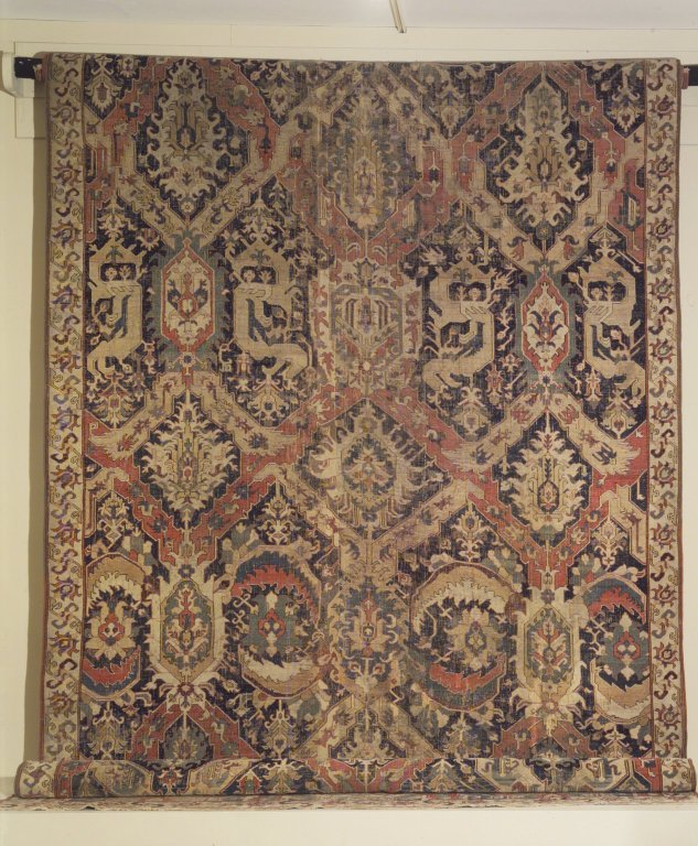 Caucasian dragon carpet
