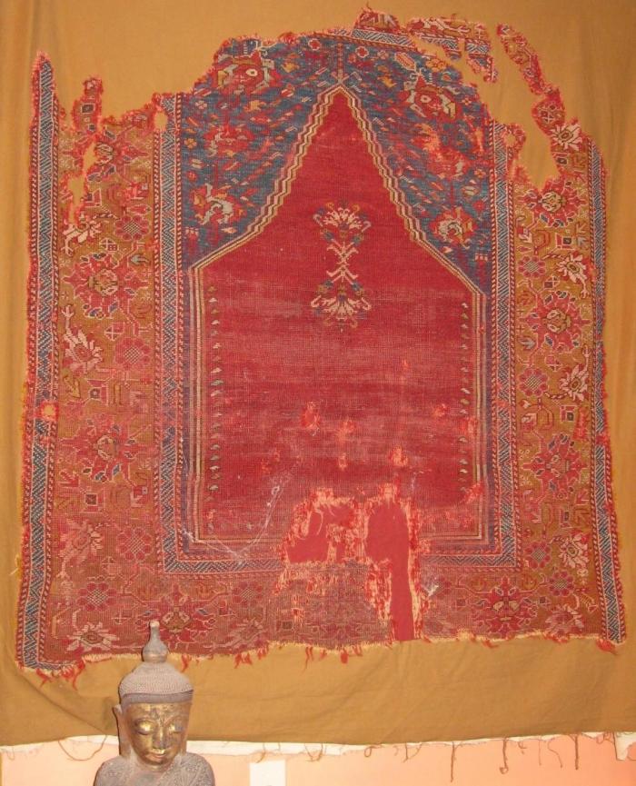 Transylvanian Prayer Rug Melas