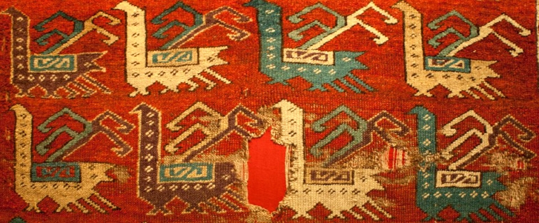 Konya Museum bird rug