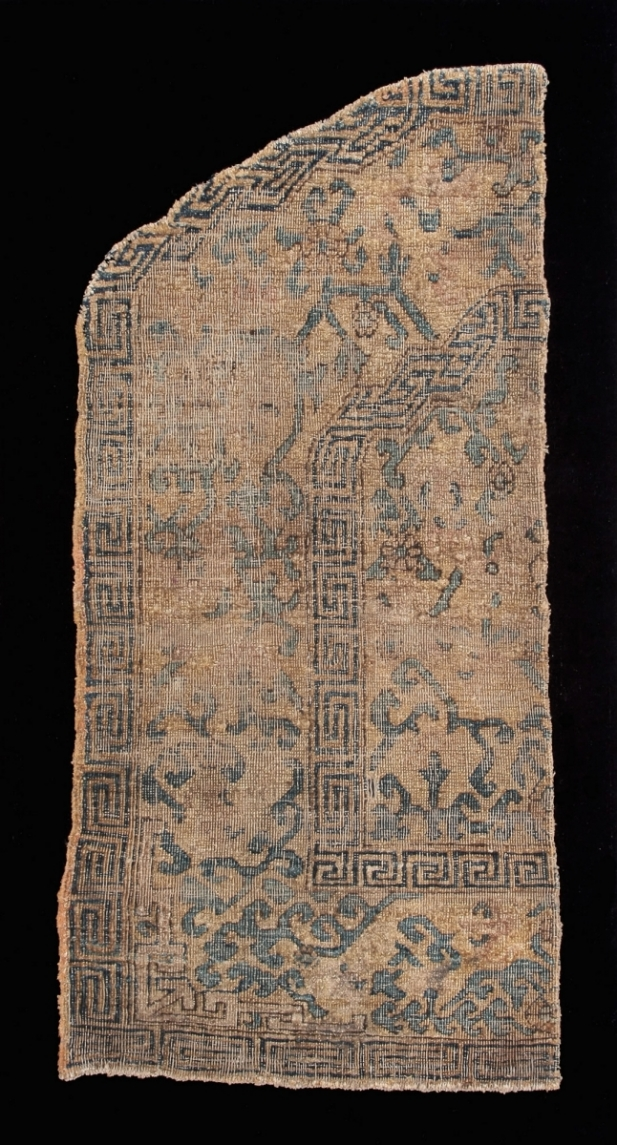 33. Kashgar silk throne cover