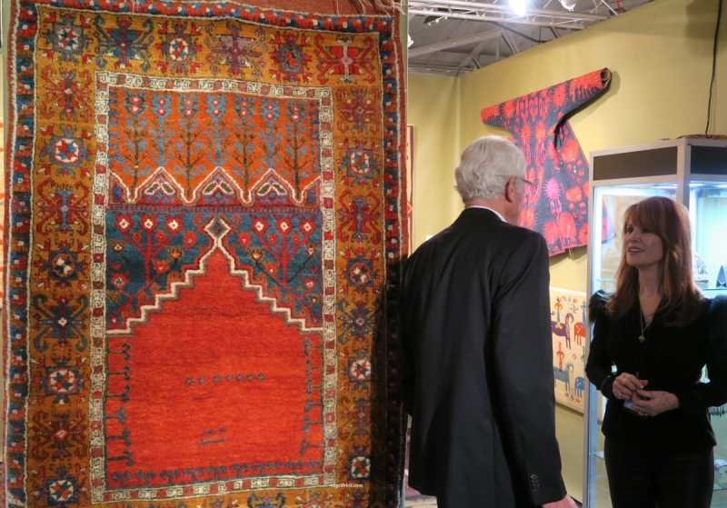 San Francisco Textile and Tribal Art Show 2018, Casey Waller