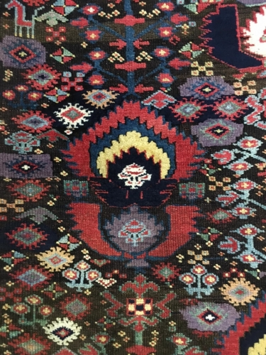 Kurdish rug, Sotheby's London: Nov 7, 2017 Rugs and Carpets including pieces from the Christopher Alexander Collection