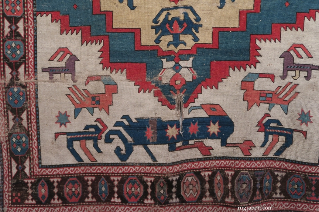 Rugs from the Christopher Alexander Collection at Sotheby's: Caucasian rug