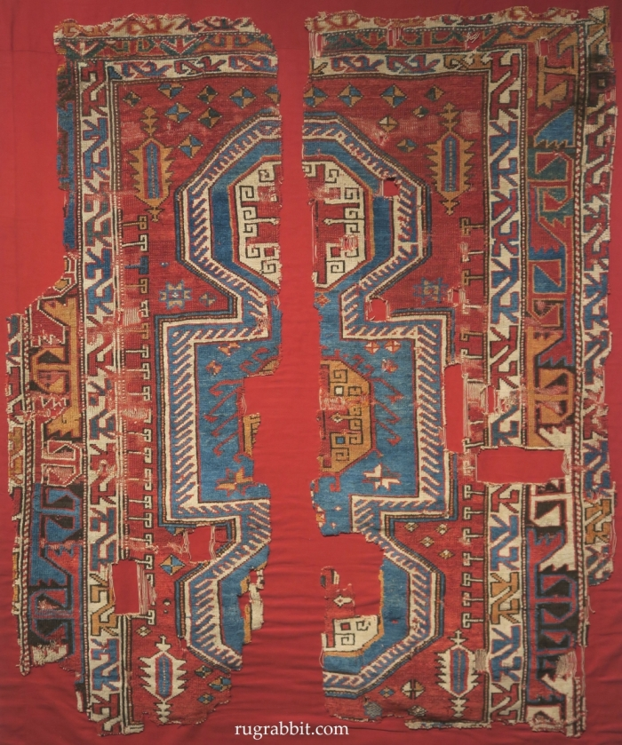 Rugs from the Christopher Alexander Collection at Sotheby's: Bergama rug fragments