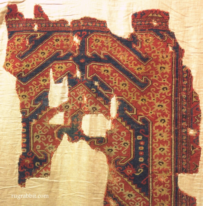 Rugs from the Christopher Alexander Collection at Sotheby's: Bergama rug fragment