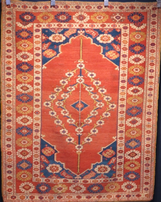 Transylvanian type Ushak rug (un-pictured in catalog)