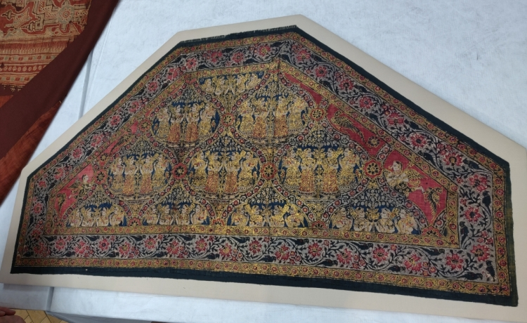 Blythe House, V&A textiles, South Indian textile