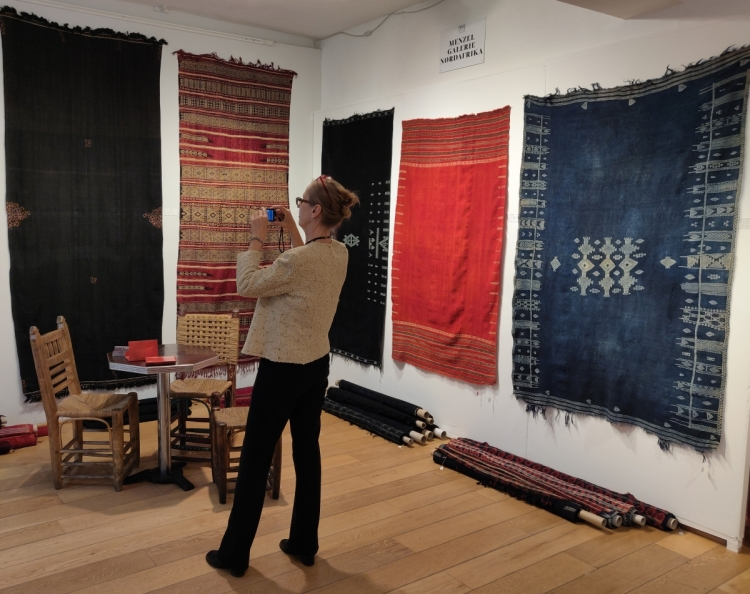 Tunisian and Libyan flatweaves with Menzel Galerie Nordafrika