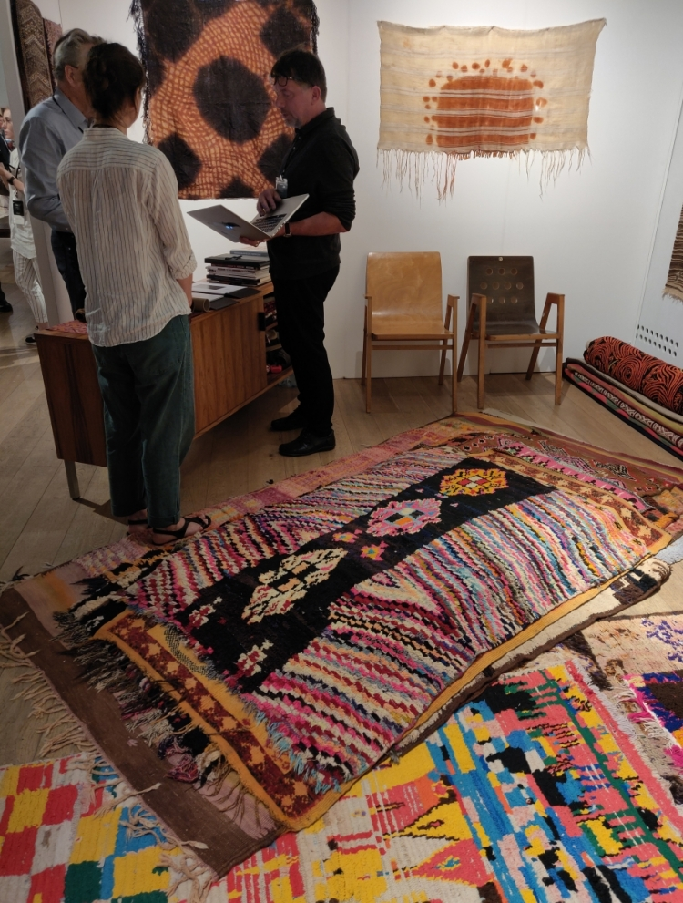 Moroccan rugs with Gebhart Blazek