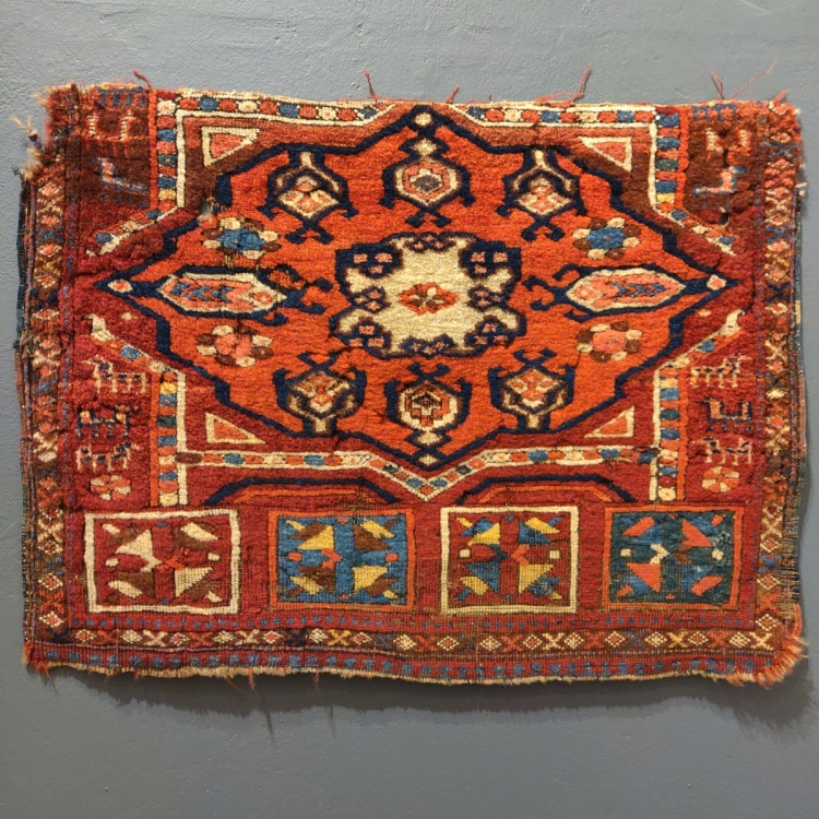 Kurdish? piece with a kejebe design, one of two with Serkan Sari
