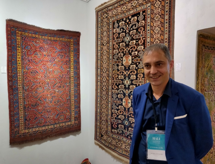 Serkan Sari, Hali Fair, London, 2019