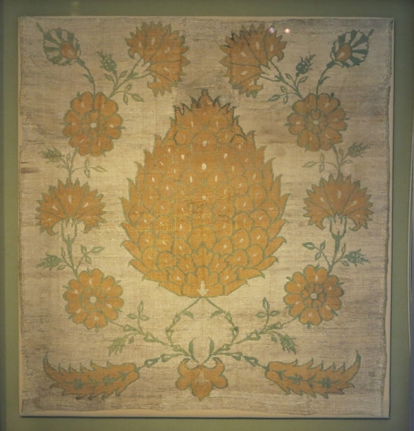 Ottoman silk, 17th century, Benaki Museum of Islamic Art, Athens
