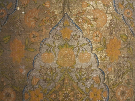 Safavid Persian silk, circa 17th century (detail) Benaki Museum of Islamic Art, Athens