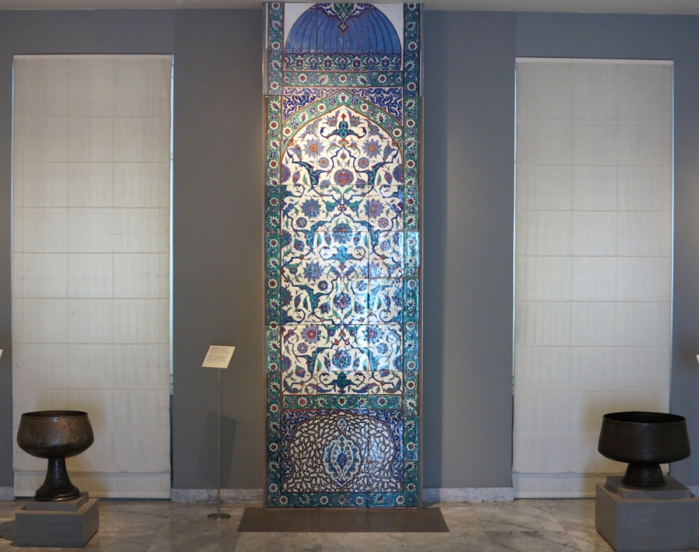 Benaki Museum of Islamic Art, Athens: Iznik tiles and Islamic metalwork