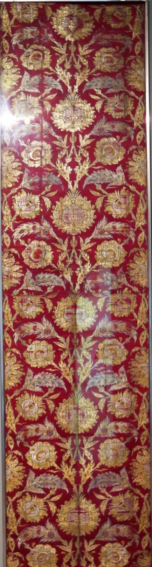 Ottoman Turkish Silk, mid 16th century, Benaki Museum of Islamic Art, Athens