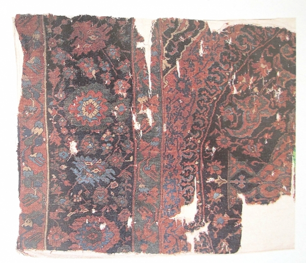 Ushak Medallion Carpet fragment