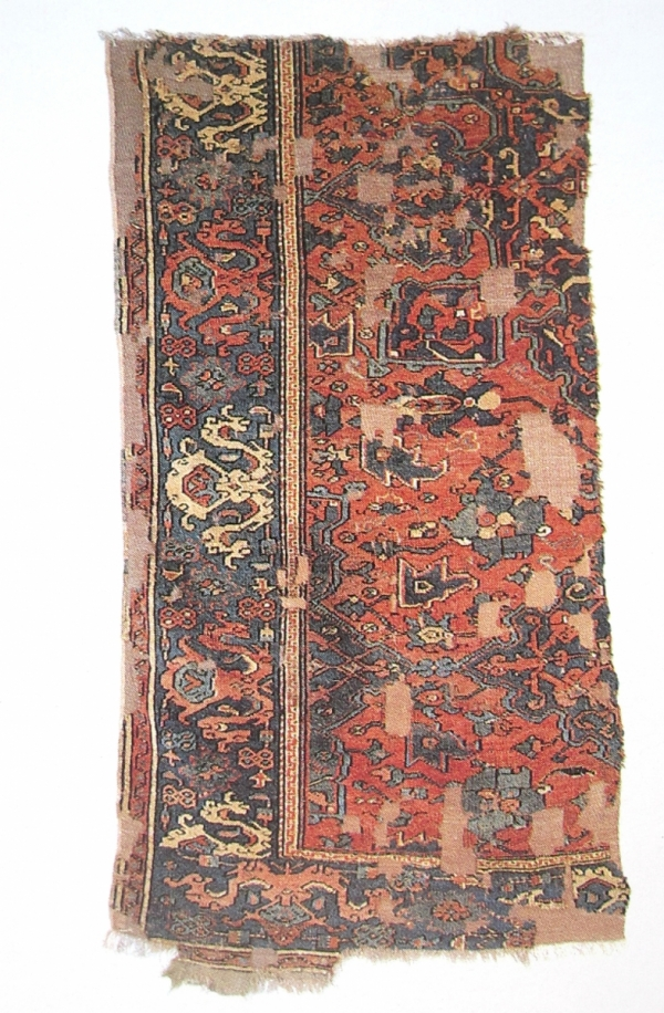 Star Ushak Carpet fragment