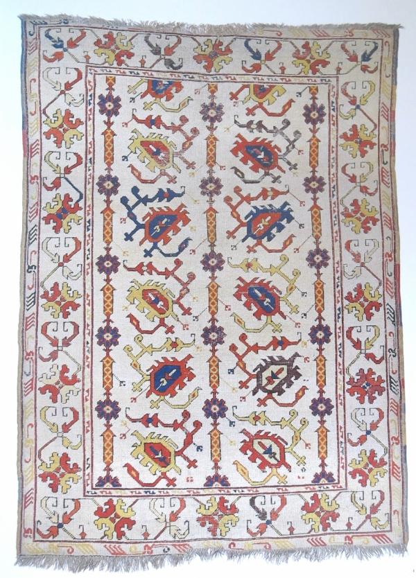 Selendi Scorpion rug