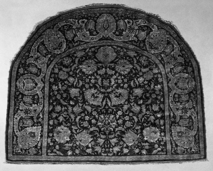 Persian saddle rug