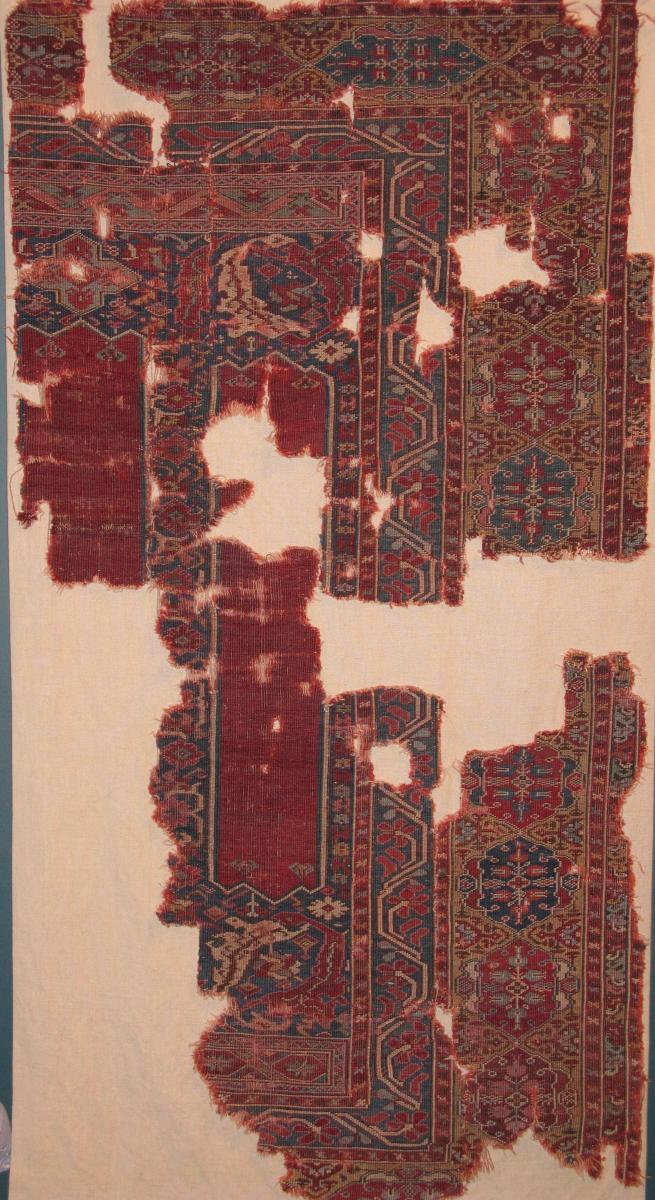 Transylvania Prayer Rug fragment Melas Ghiordes Melas