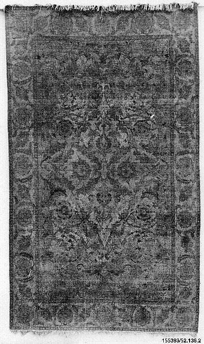 Safavid silk  Carpet