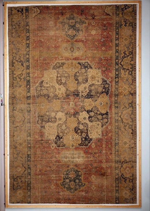 Safavid Medallion Carpet fragment