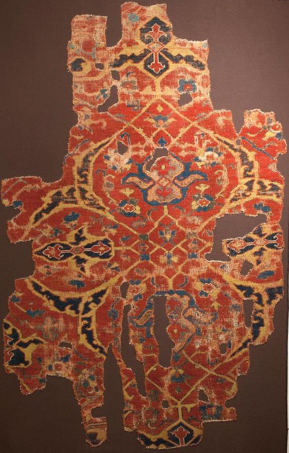 Ushak carpet fragment Konya Museum