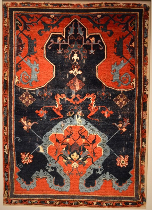 Ushak Prayer Rug Bode Berlin
