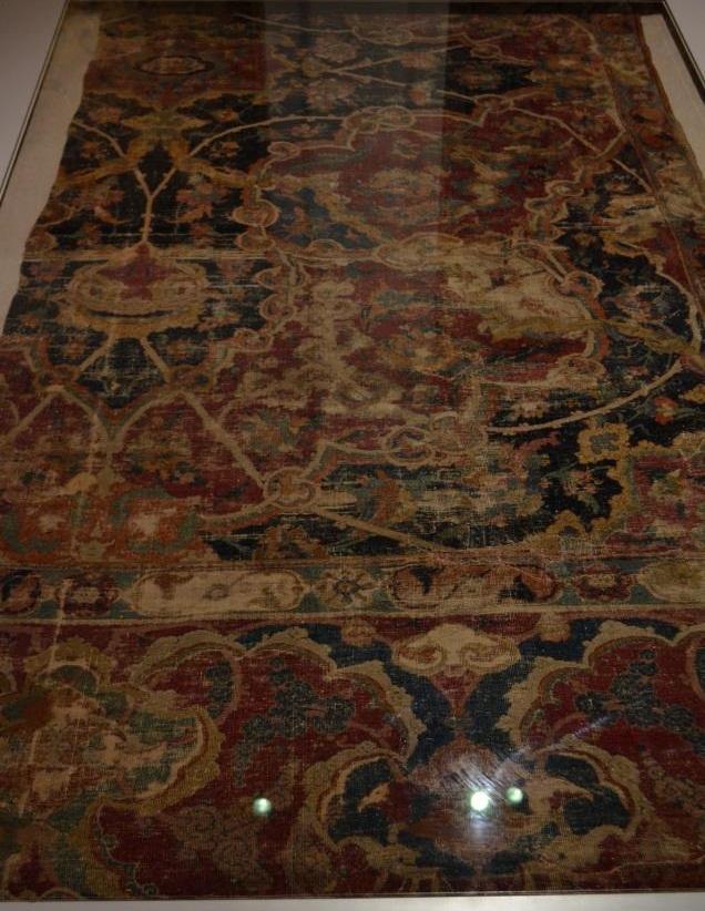 Isfahan Carpet Fragment