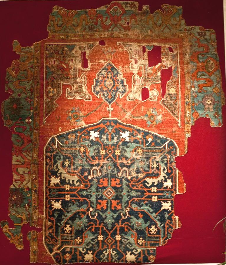 Anatolian medallion carpet Konya Museum