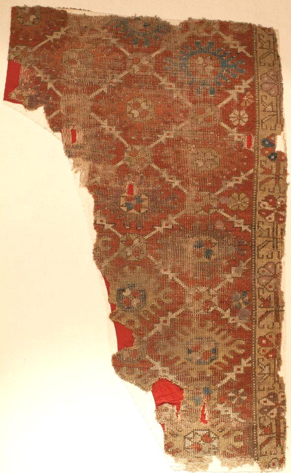 Konya rug fragment