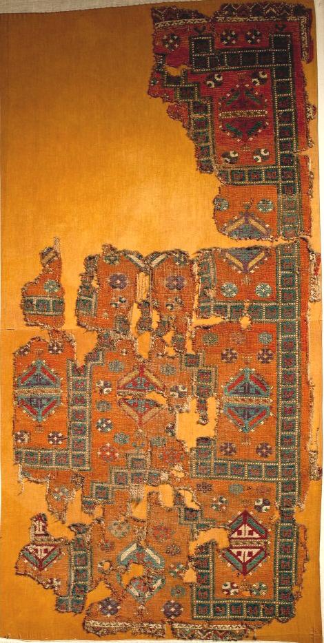 Anatolian Prayer Rug Konya Museum