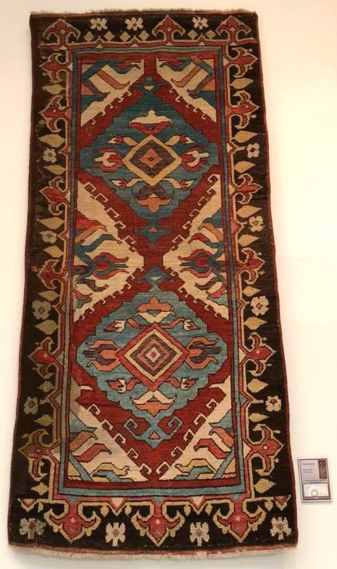 Karapinar rug ICOC Washington DC 2018