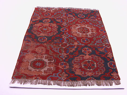 small pattern Holbein carpet
