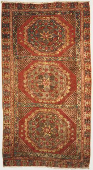 wheel and spoke Holbein carpet