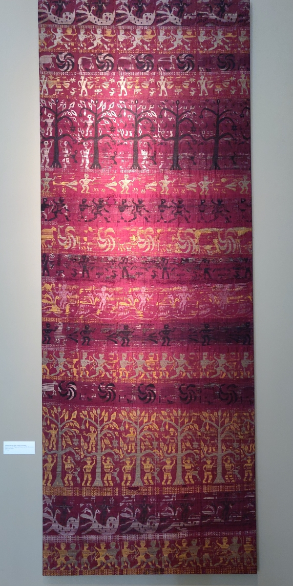 Francesca Galloway, south Indian textile