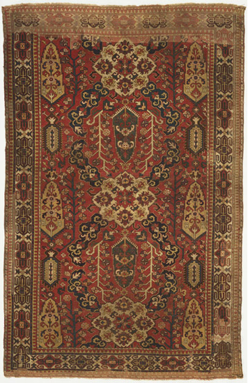 Caucasian blossom carpet