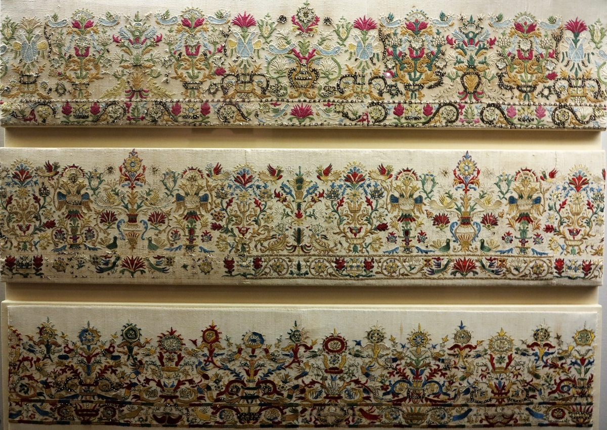 Cretan embroideries, 17th-18th century, Benaki Museum