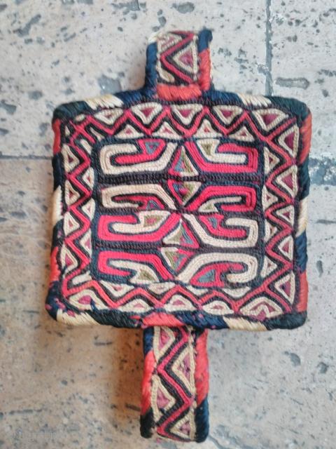 Turkmen bracelet Silk embroidery