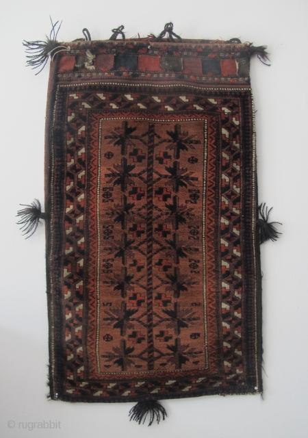 19th century Belouchi Balisht, very soft wool, excellent condition, good dyes. £450 plus shipping. SOLD - THANKS