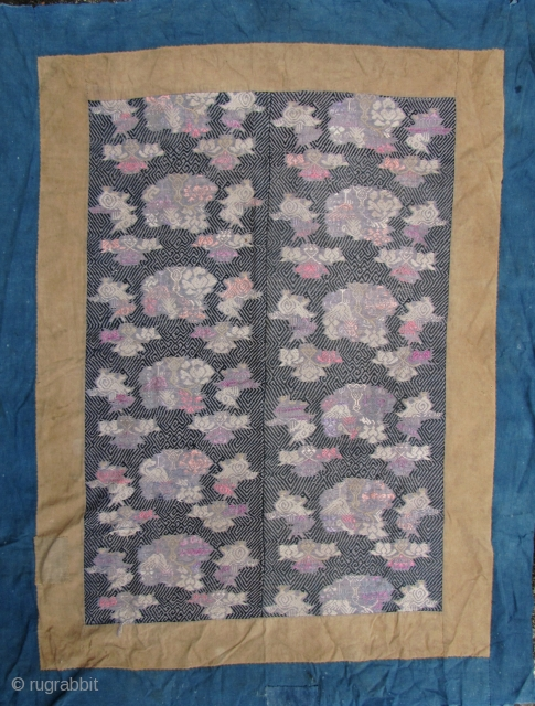 Mulao Wedding Blanket: Very rare early 20th century textile from the Mulao ethnic group Guangxi Zhuang Autonomous Province, China. Little is known about these textiles other than they show a close affinity  ...