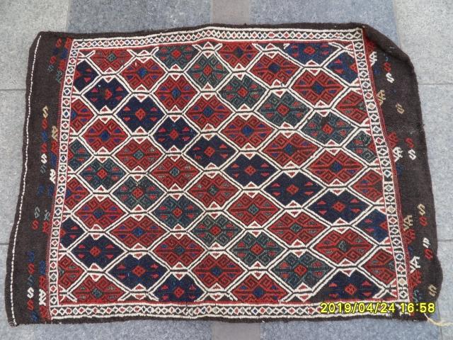 Antique Anatolian Bergama Chuval perfect. size: 100x75 cm.