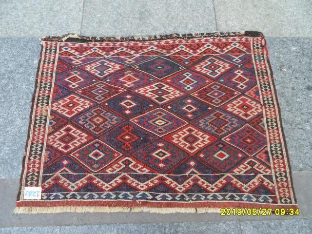 Antique Sahsavan Bagface original piece, size: 50x65