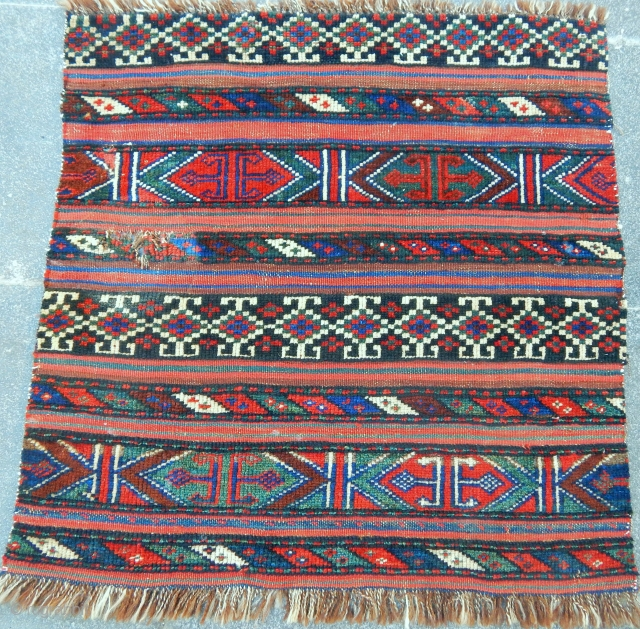 Antique Vermain Rug Bagface