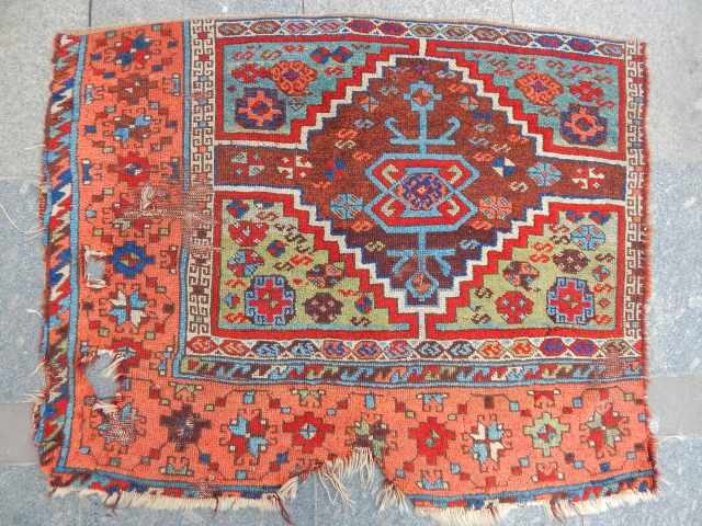 Antique East Anatolian Fragment Rug